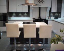 Winsford Gardens clean kitchen design