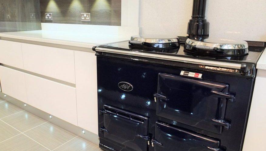 Winsford Gardens kitchen stove