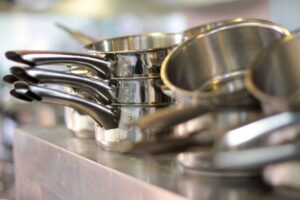 scour your cookware