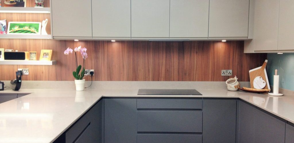 Kingsley Lane grey and beige hues kitchen