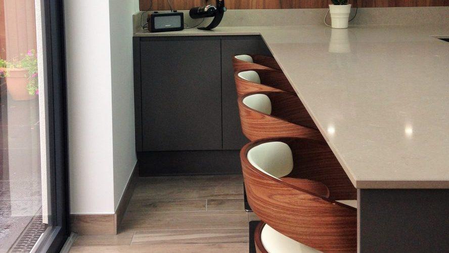 Kingsley Lane wood style stool