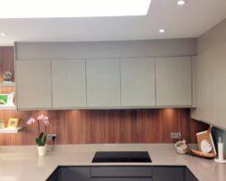 Kingsley Lane modern and neutral color kitchen cabinet