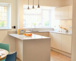 Orchard Avenue Hockely small but simple kitchen style
