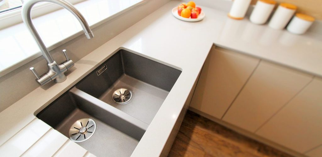 Orchard Avenue Hockely kitchen sink and faucet