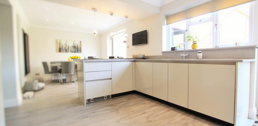 Sidwell Chase kitchen cabinet design