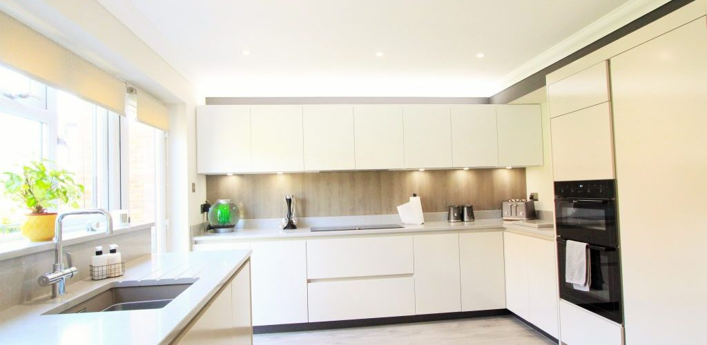 Sidwell Chase cooking area design