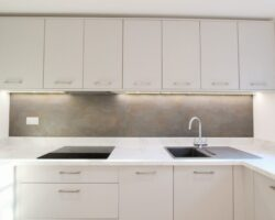 Southend Road white kitchen cabinet design
