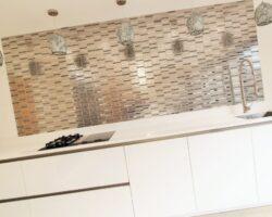 Uplands Road white kitchen design