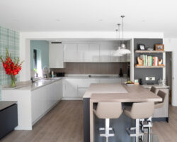 Claremont Gardens modern design kitchen
