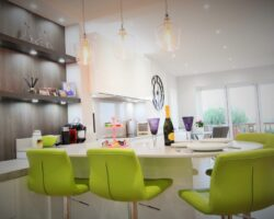 High Road Rayleigh sleek kitchen table and chairs
