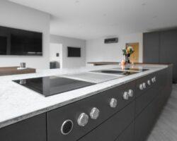Kiln House Hall Road stylish kitchen marble counters