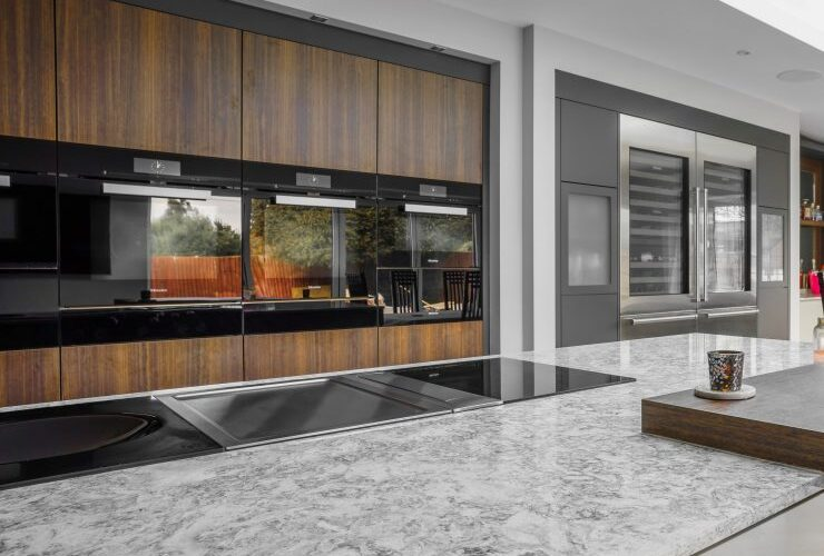 Kiln House Hall Road sleek marble modern style