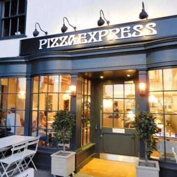 pizza express front view