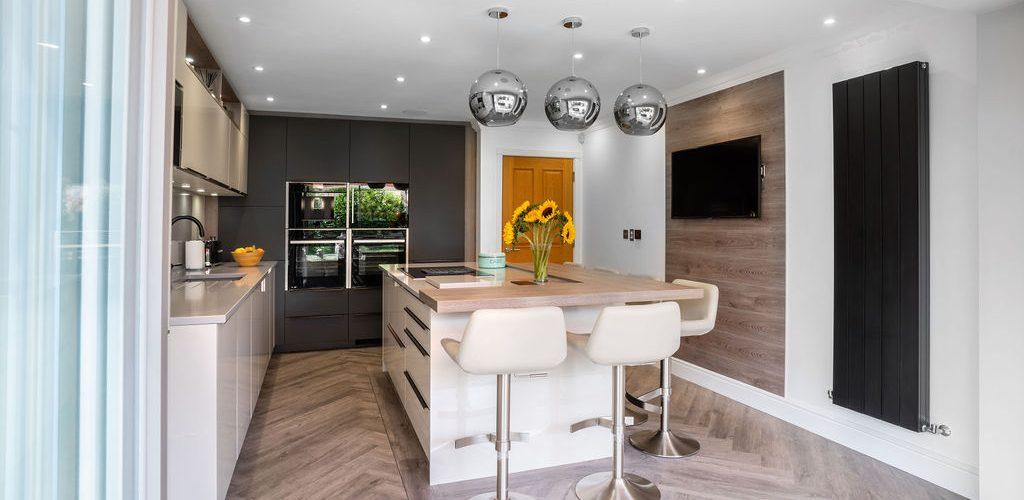 Whitehouse Chase white and grey design modern kitchen