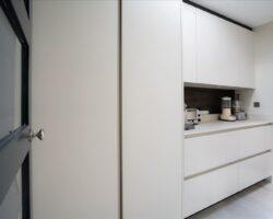 Teignmouth Drive all white kitchen cabinets