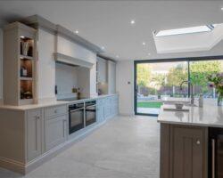 Weare Giffard kitchen side view